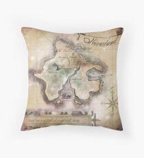 Cojín Manta de mapa de Neverland clásica King Size