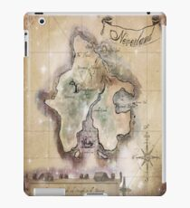 Twin size Classic Neverland Map iPad Case/Skin