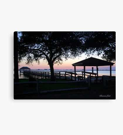 April Twilight in Florida Canvas Print