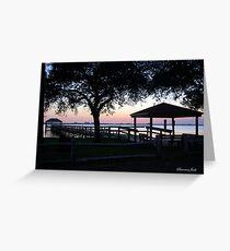 April Twilight in Florida Greeting Card