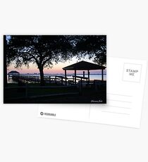 April Twilight in Florida Postcards