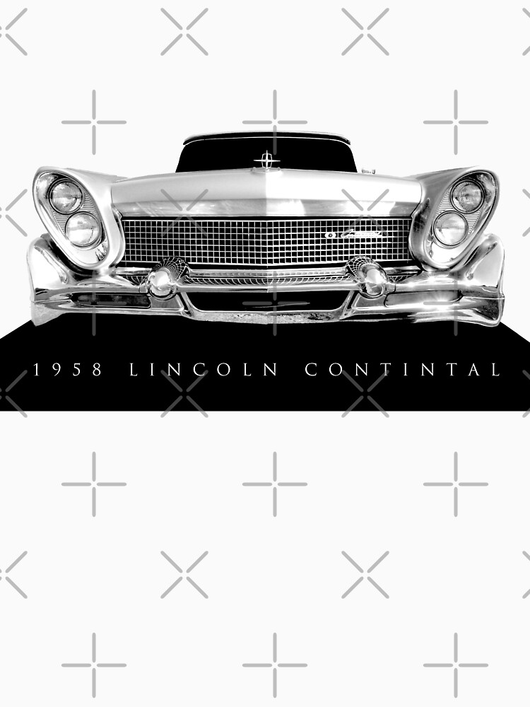 1958 Lincoln Continental - Hoher Kontrast von mal-photography