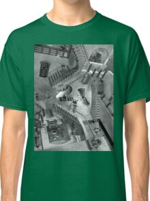 Escher's Asylum of the Daleks Classic T-Shirt