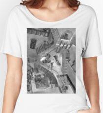Escher's Asylum of the Daleks Women's Relaxed Fit T-Shirt
