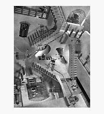Escher's Asylum of the Daleks Photographic Print