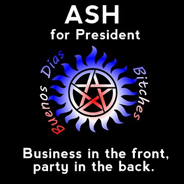 Ash for President by PrincessSchez