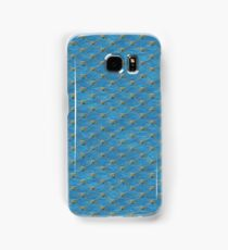 Mermaid Scales - Green Droplets Samsung Galaxy Case/Skin