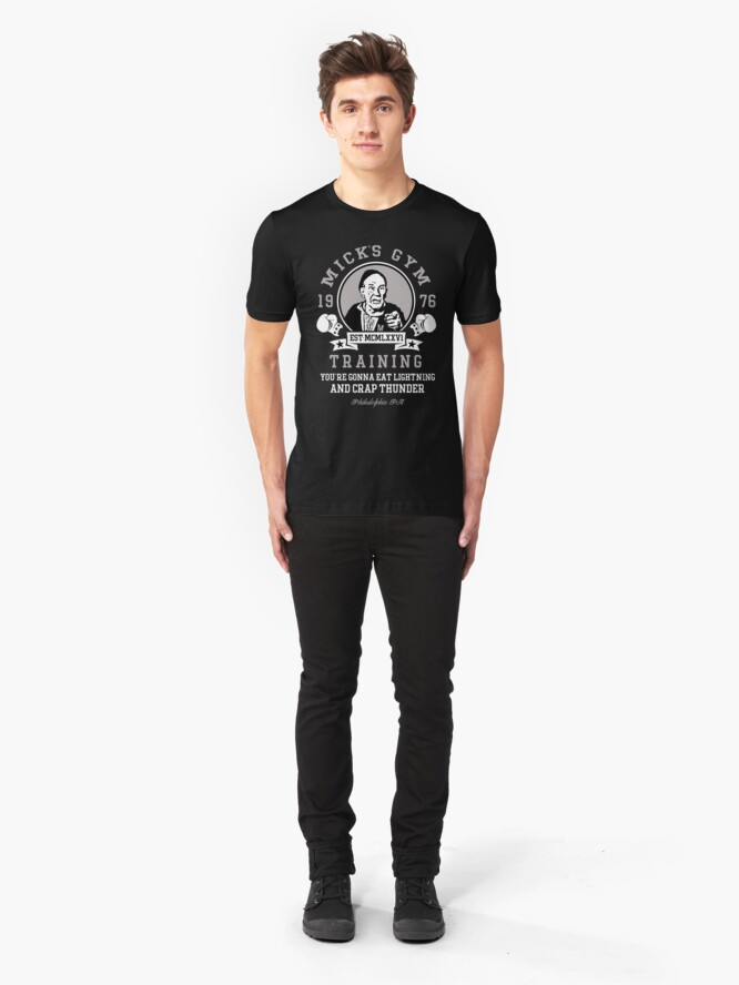 Alternative Ansicht von Micks Fitnessstudio Slim Fit T-Shirt