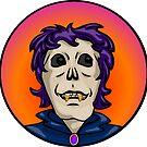 Candy Corn Zombie, Vampire Ghoul by elledeegee