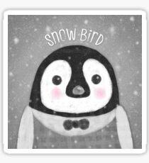 Snow Bird Sticker