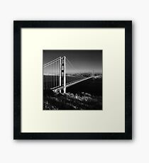 Golden Gate Bridge at Sunset Framed Print