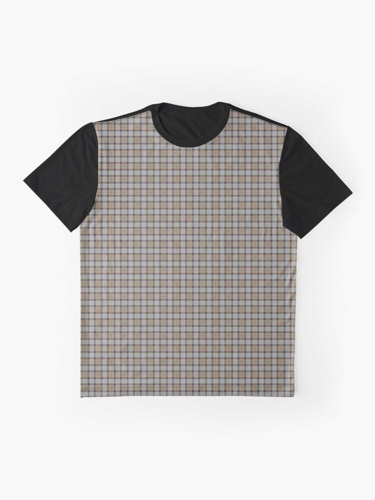 Alternative Ansicht von Outlander Fraser Tartan Grafik T-Shirt