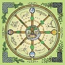 Wheel of the Year - Full Colour by Forestheart