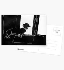 Watchful Boris Postcards