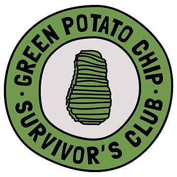 Green Potato Chip Survivor's Club by expandable