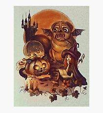 Unlucky Halloween Witch Photographic Print