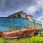Old Fishing Boat by kenmo