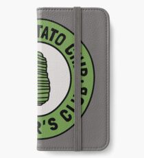 Green Potato Chip Survivor's Club iPhone Wallet/Case/Skin
