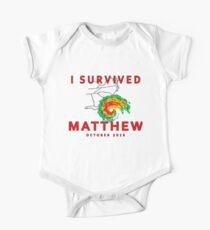 I Survived Hurricane Matthew One Piece - Short Sleeve