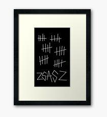 Zsasz Framed Print
