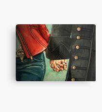 Need a Hand, Love? Metal Print