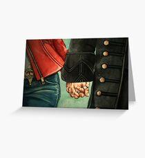 Need a Hand, Love? Greeting Card
