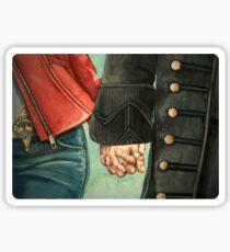 Need a Hand, Love? Sticker