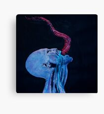 Horror Vampire  Canvas Print