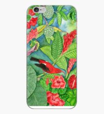 Red Iiwi Garden iPhone Case