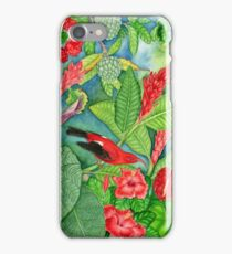 Red Iiwi Garden iPhone Case/Skin