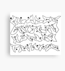 ABC Graffiti Canvas Print