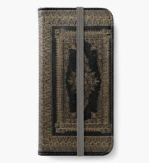 Elizabethan Style Gilded Book Cover Design iPhone Wallet/Case/Skin