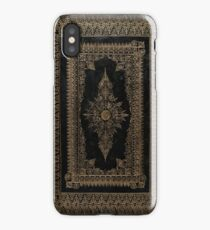 Elizabethan Style Gilded Book Cover Design iPhone Case