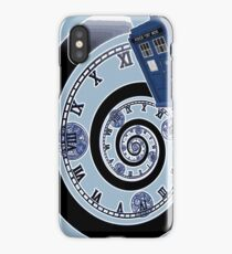The Twelfth Doctor - time spiral iPhone Case/Skin