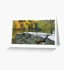 Through The Water Greeting Card
