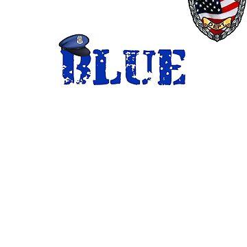 Blue Lives Matter by Starrypoo
