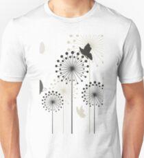 Three dandelions Unisex T-Shirt