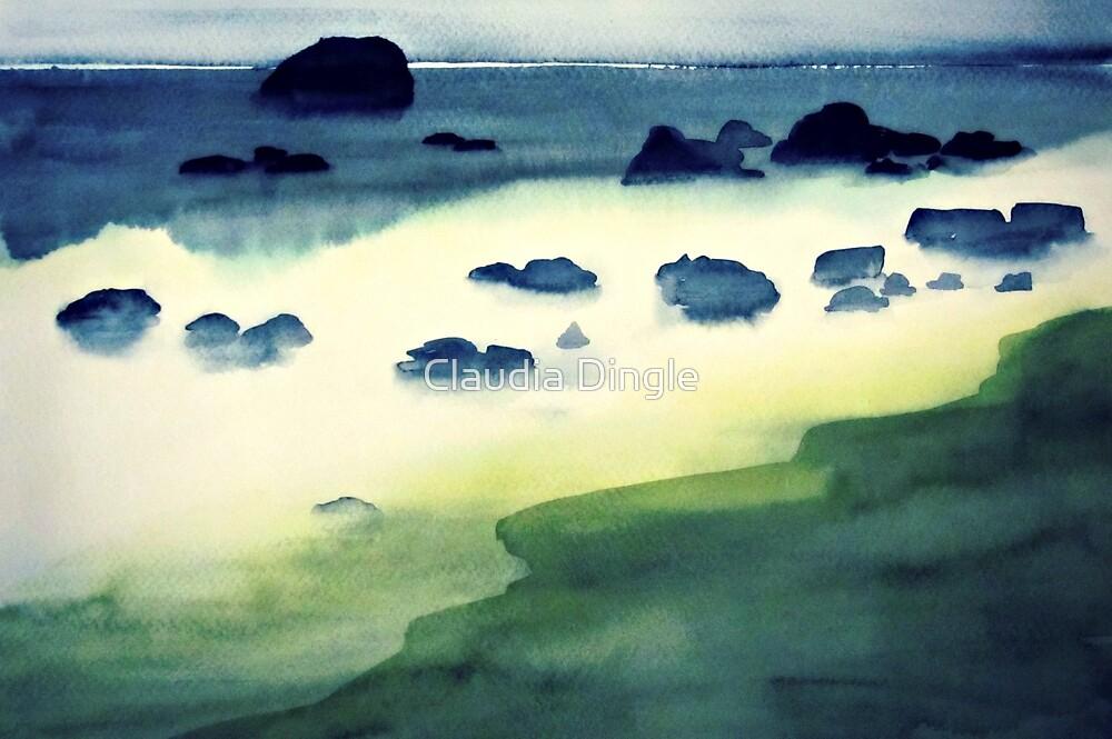 emerald coast by Claudia Dingle