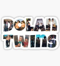 Dolan twins- picture filled Sticker