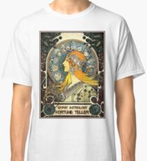 GYPSY ASTROLOGY;Vintage Fortune Teller Print Classic T-Shirt