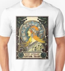GYPSY ASTROLOGY;Vintage Fortune Teller Print Unisex T-Shirt