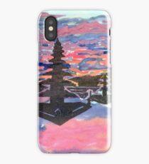 Temple Sunset  iPhone Case/Skin