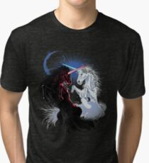 Unicorn Wars Tri-blend T-Shirt