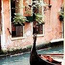 Venice Water and Gondola by Zehda
