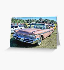 1959 De Soto Firesweep Greeting Card
