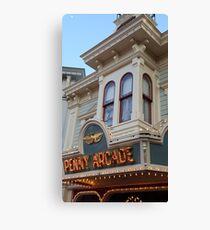 Penny Arcade Sign Canvas Print