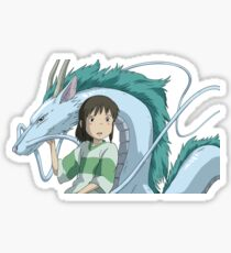Spirited Away, Chihiro and Haku Sticker