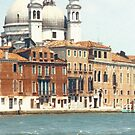 Venice Canal and Building by Zehda