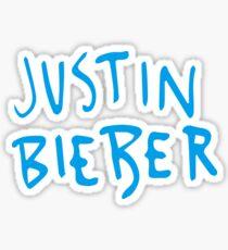 jb blue Sticker