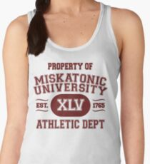 Property of Miskatonic University Athletic Dept Women's Tank Top